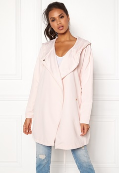 VILA Lake Loose Jacket Peach Blush Bubbleroom.no