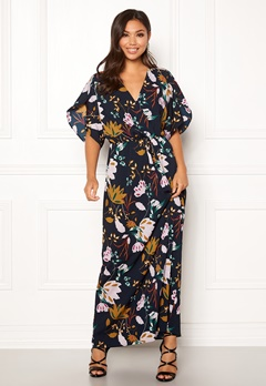 VILA Lasha Adra Maxi Dress Total Eclipse Bubbleroom.no