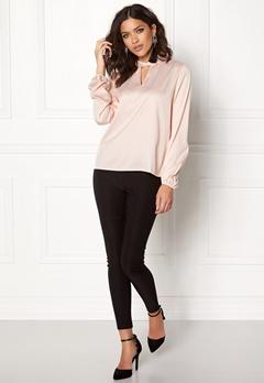 VILA Lianna L/S Top Peach Blush Bubbleroom.no