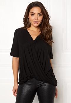 VILA Lolla S/S T-shirt/PB Black Bubbleroom.no