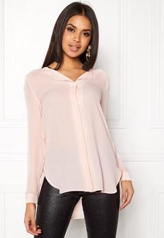 VILA Lucy L/S Shirt Peach Blush Bubbleroom.no