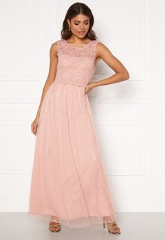 VILA Lynnea Maxi Dress Pale Mauve Bubbleroom.no