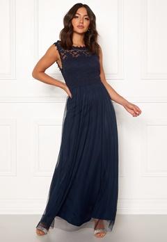 VILA Lynnea Maxi Dress Total Eclipse Bubbleroom.no