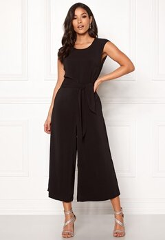 VILA Melis New Jumpsuit Black Bubbleroom.no