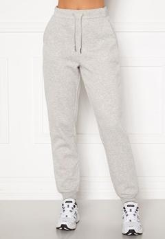 VILA Pera HW Sweat Pant Super Light Grey Mel Bubbleroom.no
