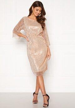 VILA Rama 3/4 Dress Silver Peony Bubbleroom.no
