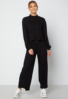 VILA Ribbi Pants Black Bubbleroom.no