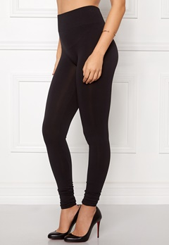 VILA Seam Long Leggings Black Bubbleroom.no