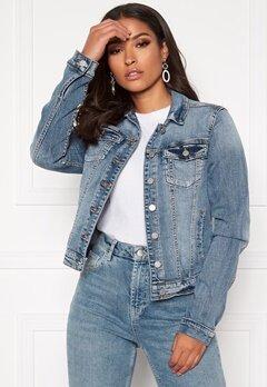 VILA Show Denim Jacket Medium Blue Denim Bubbleroom.no