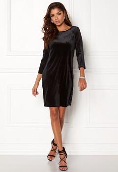VILA Sienna 3/4 Sleeve Dress Black Bubbleroom.no