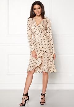 VILA Soap L/S Dress Sandshell Bubbleroom.no