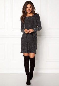 VILA Tinny Luosquare New Dress Black Bubbleroom.no