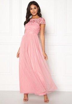 VILA Ulricana s/s Maxi Dress Bridal Rose Bubbleroom.no