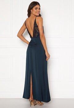 VILA Vinupa S/L Maxi Dress Total Eclipse Bubbleroom.no
