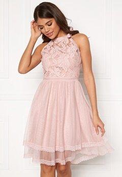 VILA Zinna New S/L Dress Pale Mauve Bubbleroom.no