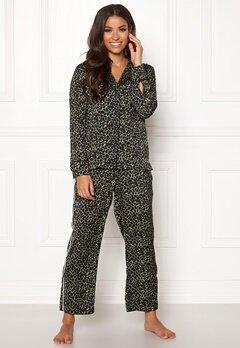 Love Stories Weekend Pyjama Pants Black Bubbleroom.no