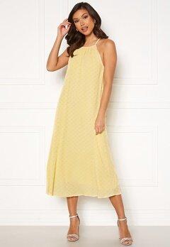 Y.A.S Bali Strap Midi Dress Pale Banana Bubbleroom.no