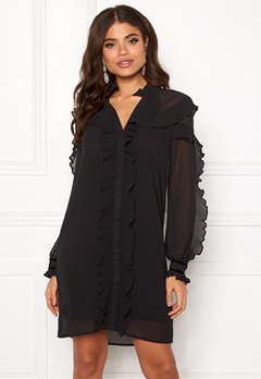 Y.A.S Blissa LS Dress Black Bubbleroom.no