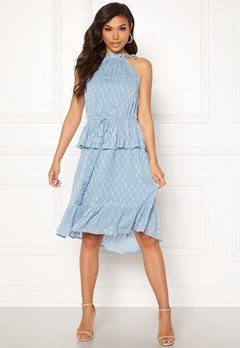 Y.A.S Cecilia Dress Alaskan Blue Bubbleroom.no