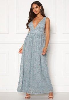 Y.A.S Cheshire SL Maxi Dress Blue Heaven Bubbleroom.no