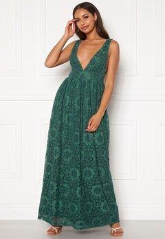 Y.A.S Cheshire SL Maxi Dress Evergreen Bubbleroom.no