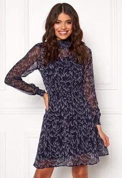 Y.A.S Coralla LS Dress Dark Sapphire Bubbleroom.no