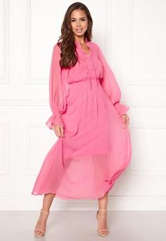 Y.A.S Debra L/S Dress Sachet Pink Bubbleroom.no