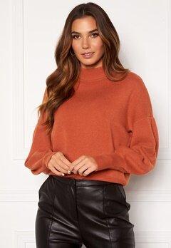 Y.A.S Fonny Knit Pullover Auburn Bubbleroom.no