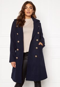 Y.A.S Goldian Wool coat Navy Blazer Bubbleroom.no