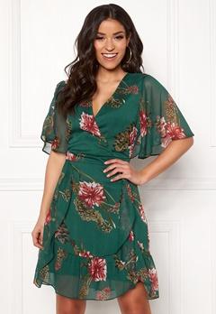Y.A.S Hilma S/S Dress June Bug Bubbleroom.no