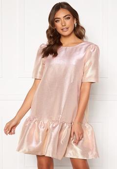 Y.A.S Jane SS Dress - Show Quartz Pink Bubbleroom.no