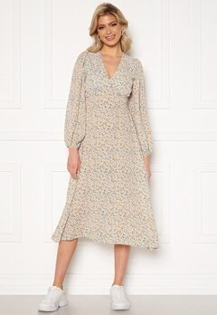 Y.A.S Kaydel 7/8 Midi Dress Cornflower Blue/ AOP Bubbleroom.no
