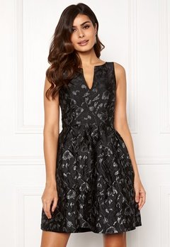 Y.A.S Losha SL Dress Black Bubbleroom.no