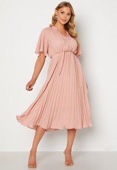 Y.A.S Manna 2/4 Midi Dress Blush bubbleroom.no