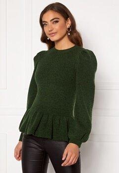 Y.A.S Marilyn LS Knit Pullover Sycamore Bubbleroom.no