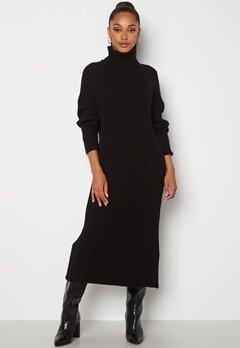 Y.A.S Mavi LS Knit Dress Black Bubbleroom.no