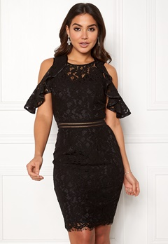 Y.A.S Nicola Lace Dress Black Bubbleroom.no