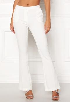 Y.A.S Samura Libby Pant Star White Bubbleroom.no