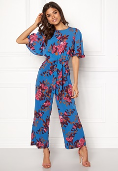 Y.A.S Wadaya Jumpsuit Strong Blue Bubbleroom.no