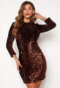Y.A.S Whitney 2/4 Dress Black Bubbleroom.no
