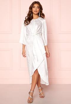 Y.A.S Xenia Dress Star White Bubbleroom.no