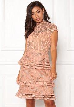 Y.A.S Yrsa Lace Dress Rose Smoke Bubbleroom.no