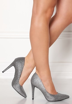 New Look Yummy Glitter Heel Silver Bubbleroom.no