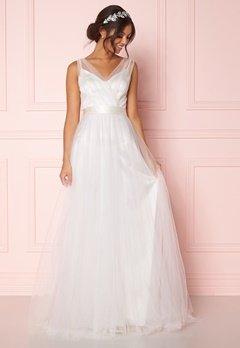 Zetterberg Couture Nadja Long Bridal Dress Ivory Bubbleroom.no