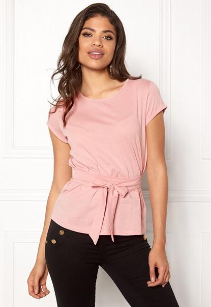 77thFLEA Layla t-shirt Dusty pink Bubbleroom.no