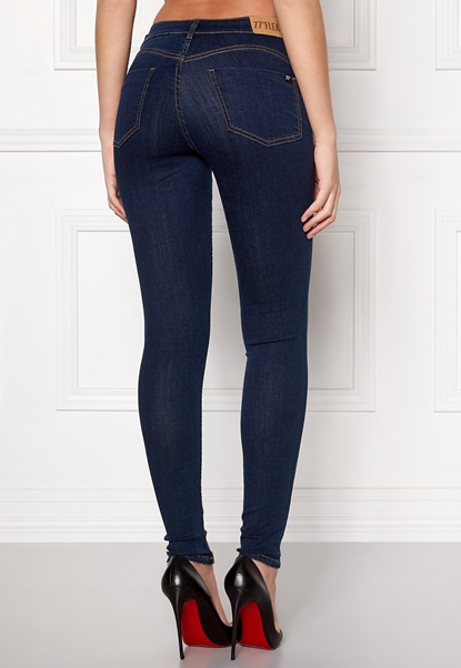 77thFLEA Miranda Push-up jeans Midnight blue Bubbleroom.no