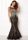 Fishtail Sequin Dress