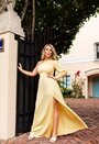 One sleeve gown