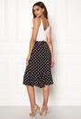 Blouson Polka Dot Dress