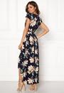 Floral Waterfall Dress